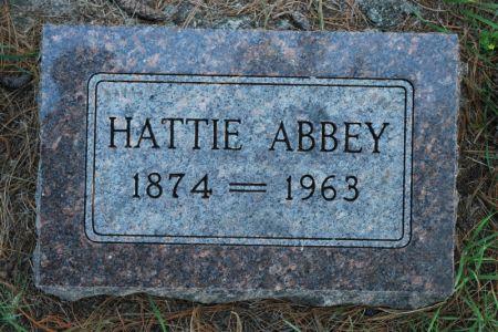 ABBEY, HATTIE - Hamilton County, Iowa | HATTIE ABBEY