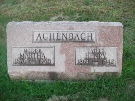 ACHENBACH, MARTHA - Hamilton County, Iowa | MARTHA ACHENBACH