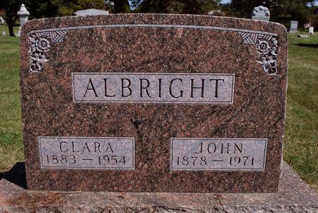 ALBRIGHT, JOHN - Hamilton County, Iowa   JOHN ALBRIGHT
