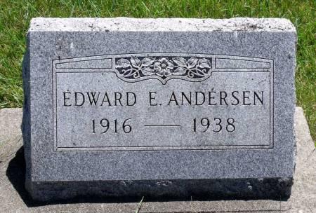 ANDERSEN, EDWARD E. - Hamilton County, Iowa | EDWARD E. ANDERSEN