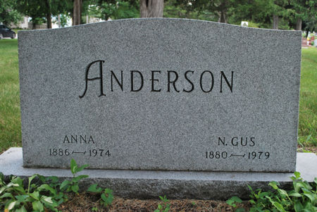 ANDERSON, ANNA - Hamilton County, Iowa   ANNA ANDERSON