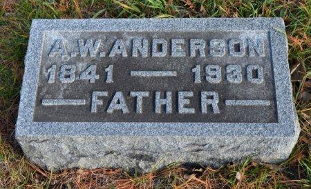 ANDERSON, ANDREW WILLIAM - Hamilton County, Iowa   ANDREW WILLIAM ANDERSON