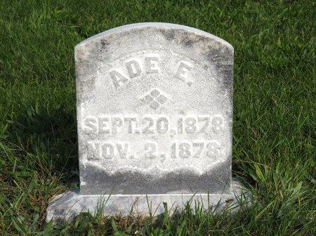 ANDERSON, ADE E. - Hamilton County, Iowa | ADE E. ANDERSON