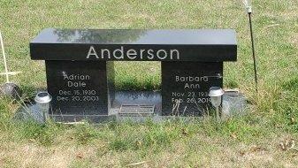 ANDERSON, ADRIAN DALE - Hamilton County, Iowa | ADRIAN DALE ANDERSON