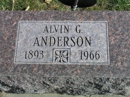 ANDERSON, ALVIN G. - Hamilton County, Iowa | ALVIN G. ANDERSON