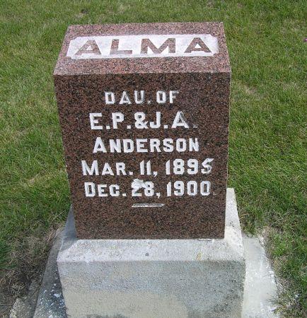 ANDERSON, ALMA - Hamilton County, Iowa | ALMA ANDERSON