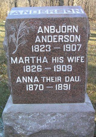 ANDERSON, ANNA - Hamilton County, Iowa | ANNA ANDERSON