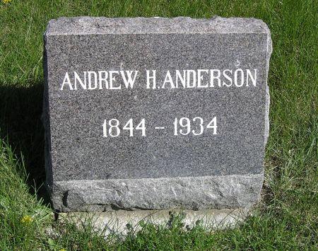 ANDERSON, ANDREW H. - Hamilton County, Iowa   ANDREW H. ANDERSON