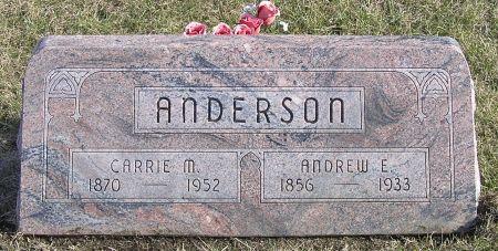 ANDERSON, ANDREW E. - Hamilton County, Iowa | ANDREW E. ANDERSON