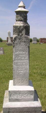 ANDERSON, ANDREW T. - Hamilton County, Iowa   ANDREW T. ANDERSON