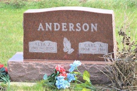 ANDERSON, ALTA ZAE - Hamilton County, Iowa   ALTA ZAE ANDERSON