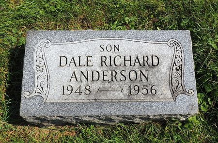 ANDERSON, DALE RICHARD - Hamilton County, Iowa   DALE RICHARD ANDERSON
