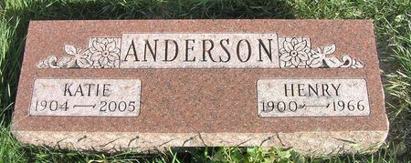 ANDERSON, HENRY - Hamilton County, Iowa | HENRY ANDERSON
