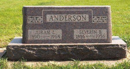 ANDERSON, SEVERIN B. - Hamilton County, Iowa   SEVERIN B. ANDERSON
