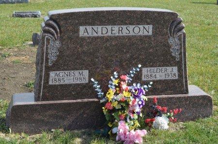 ANDERSON, AGNES MARGUERITE - Hamilton County, Iowa | AGNES MARGUERITE ANDERSON