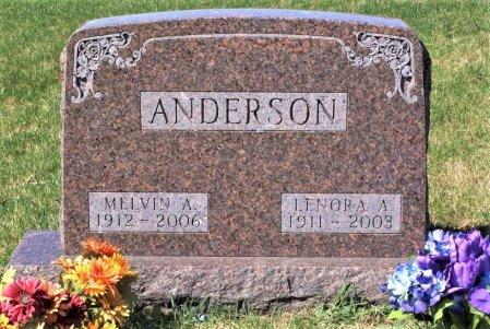 BERGESON ANDERSON, LENORA A. - Hamilton County, Iowa   LENORA A. BERGESON ANDERSON