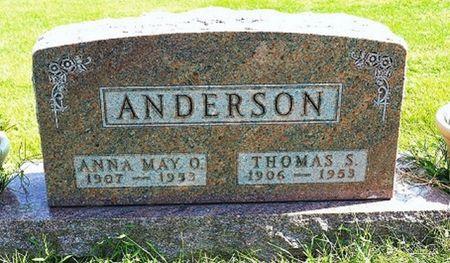 ANDERSON, ANNA MAY O. - Hamilton County, Iowa   ANNA MAY O. ANDERSON