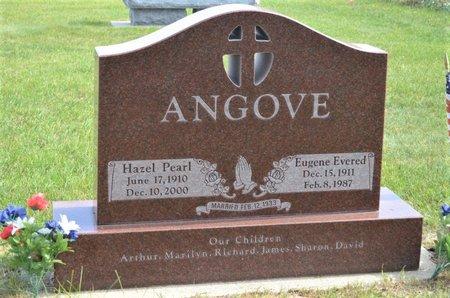 KLINGENSMITH ANGOVE, HAZEL PEARL - Hamilton County, Iowa   HAZEL PEARL KLINGENSMITH ANGOVE