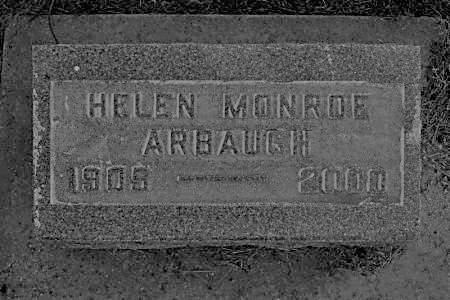 MONROE ARBAUGH, HELEN - Hamilton County, Iowa | HELEN MONROE ARBAUGH