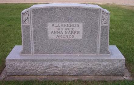 ARENDS, A.J. FAMILY STONE BACKSIDE - Hamilton County, Iowa | A.J. FAMILY STONE BACKSIDE ARENDS