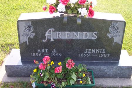 ARENDS, JENNIE - Hamilton County, Iowa | JENNIE ARENDS