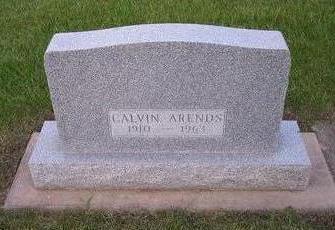 ARENDS, CALVIN - Hamilton County, Iowa | CALVIN ARENDS