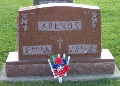 ARENDS, LOUISE M. - Hamilton County, Iowa | LOUISE M. ARENDS