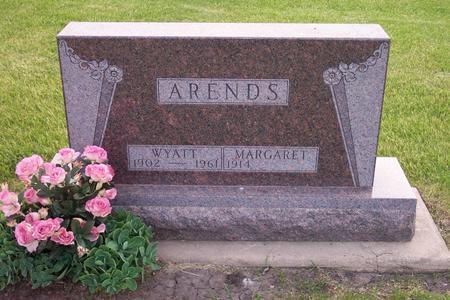 ARENDS, MARGARET - Hamilton County, Iowa | MARGARET ARENDS