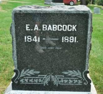 BABCOCK, E. A. - Hamilton County, Iowa   E. A. BABCOCK