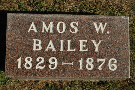BAILEY, AMOS W. - Hamilton County, Iowa   AMOS W. BAILEY