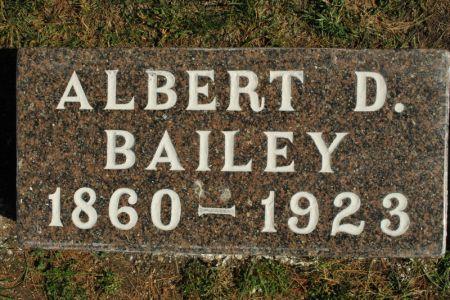 BAILEY, ALBERT D. - Hamilton County, Iowa   ALBERT D. BAILEY