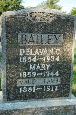 BAILEY, MARY - Hamilton County, Iowa | MARY BAILEY