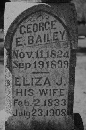 BAILEY, ELIZA J. MOORE - Hamilton County, Iowa | ELIZA J. MOORE BAILEY