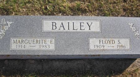 BAILEY, MARGUERITE E. - Hamilton County, Iowa   MARGUERITE E. BAILEY