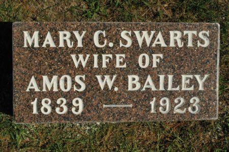 BAILEY, MARY C. SWARTS - Hamilton County, Iowa | MARY C. SWARTS BAILEY