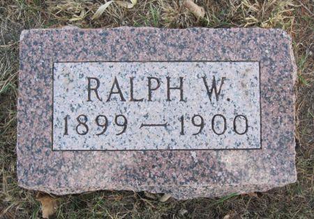 BAILEY, RALPH W. - Hamilton County, Iowa | RALPH W. BAILEY