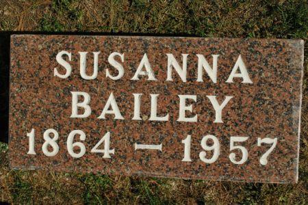 BAILEY, SUSANNA - Hamilton County, Iowa | SUSANNA BAILEY