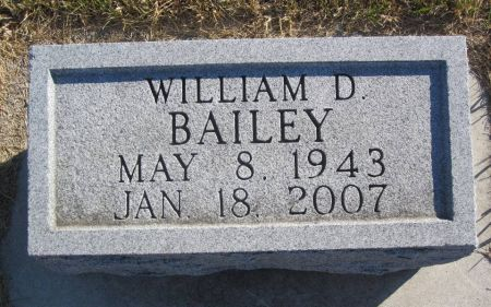 BAILEY, WILLIAM D. - Hamilton County, Iowa   WILLIAM D. BAILEY