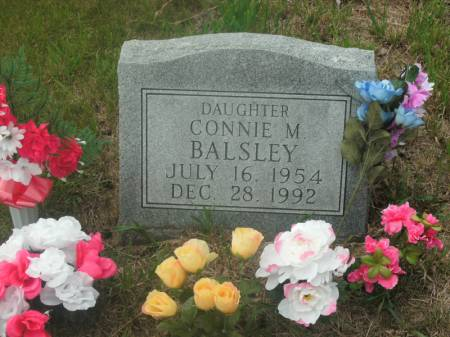 BALSLEY, CONNIE M. - Hamilton County, Iowa   CONNIE M. BALSLEY