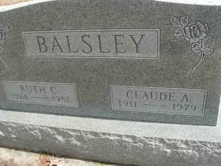 BALSLEY, RUTH C. - Hamilton County, Iowa | RUTH C. BALSLEY