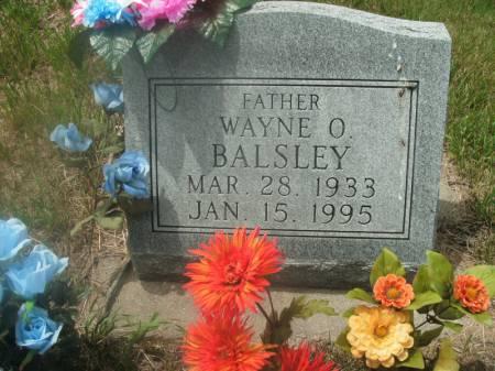 BALSLEY, WAYNE O. - Hamilton County, Iowa | WAYNE O. BALSLEY