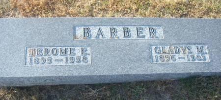 GOODRICH BARBER, GLADYS MAY - Hamilton County, Iowa | GLADYS MAY GOODRICH BARBER