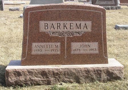 BARKEMA, ANNETTE M. - Hamilton County, Iowa | ANNETTE M. BARKEMA