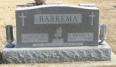 BARKEMA, WILLIS T. - Hamilton County, Iowa   WILLIS T. BARKEMA