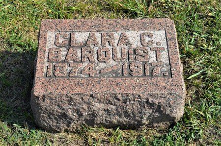 FELLESON BARQUIST, CLARA C. - Hamilton County, Iowa   CLARA C. FELLESON BARQUIST
