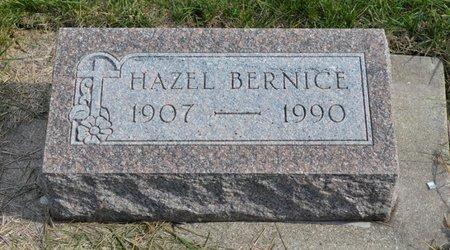 BAILEY BARQUIST, HAZEL BERNICE - Hamilton County, Iowa | HAZEL BERNICE BAILEY BARQUIST