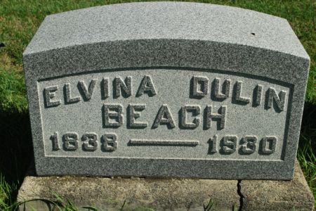 BEACH, ELVINA DULIN - Hamilton County, Iowa | ELVINA DULIN BEACH