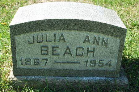 BEACH, JULIA ANN - Hamilton County, Iowa | JULIA ANN BEACH