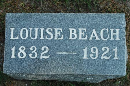 BEACH, LOUISE - Hamilton County, Iowa   LOUISE BEACH