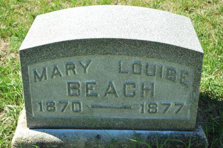 BEACH, MARY LOUISE - Hamilton County, Iowa | MARY LOUISE BEACH